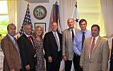 Visit to Mississippi River Commission