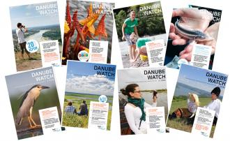 Flip through Danube Watch and other ICPDR publications online