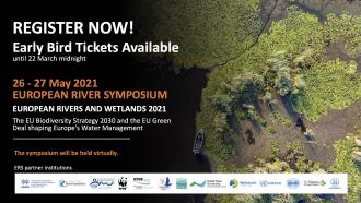 Register Now! European River Symposium 2021