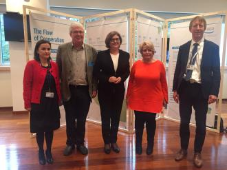 The ICPDR and the Danube guests of the EU Parliament