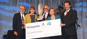 Willamette River wins 2012 Thiess International Riverprize