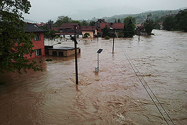 2014 Record Flooding In The Danube River Basin Icpdr