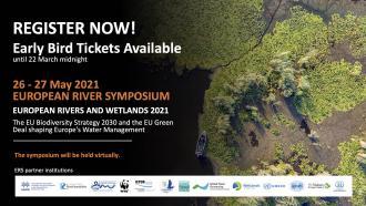 Register Now! European River Symposium 2021